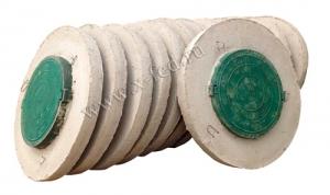 Бетонная крышка с люком, крышка для колодца и септика с люком