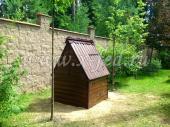 Колодец под ключ с колодезным домиком №7 в Одинцовском районе, поселок Никулина гора
