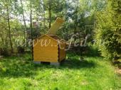 Домик(крышка) для скважины, установленный в Наро-Фоминском районе, деревня Веселево