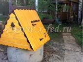 Колодец под ключ в Рузском районе с домиком для колодца №1