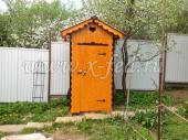 Туалет номер 1 установленный в Рузском районе, деревне Волково