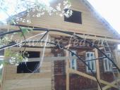 Пристройка веранды и новой крыши. Лотошино