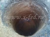 Ручная копка шахты под септик