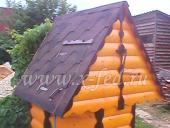 Домик для колодца №6 из блок-хауса
